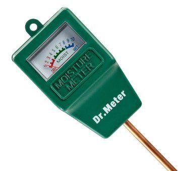 Dr.Meter® Sensor Medidor de humedad, Monitor de agua, hidrómetro ...