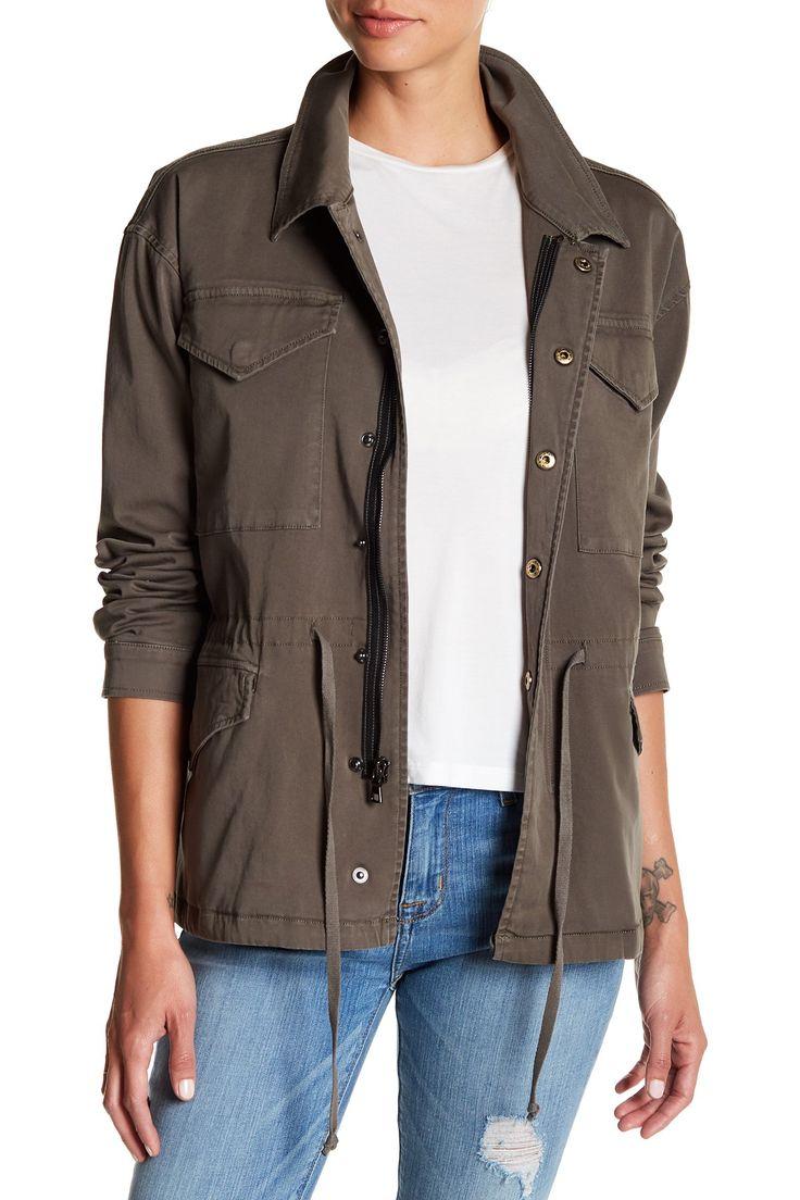 Sienna Long Sleeve Jacket by HUDSON Jeans on @nordstrom_rack