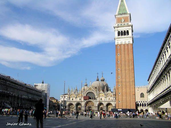Campanile de Venecia, en la Plaza de San Marcos.