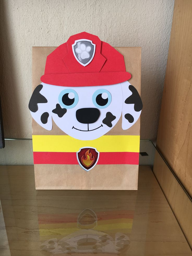 Paw Patrol - Marshall party bags