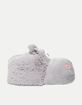 New Look Nippo Hippo Novelty Slippers #Slippers www.Slippers.com