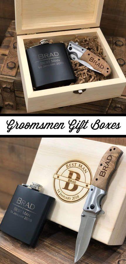 Etsy Groomsman Gift Set Groomsman Gift Box Groomsmen Gift Box
