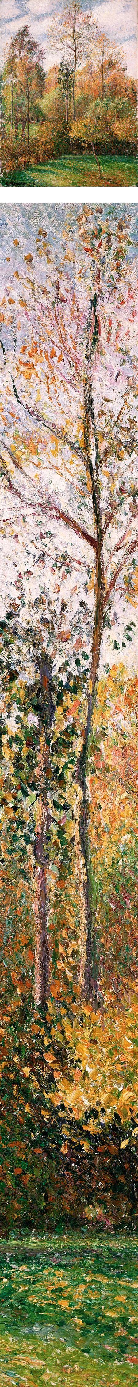 Camille Pissarro - Autumn Poplars, Eragny