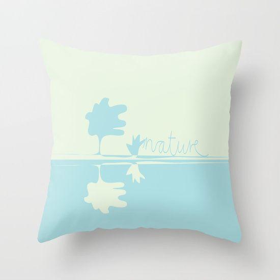 Nature Minimal Throw Pillow