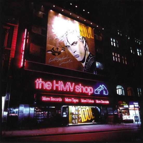 ~HMV. Billy Idol 30ftx30ft~