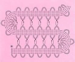Resultado de imagem para bruges lace crochet tutorial