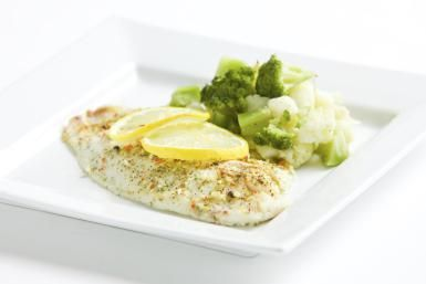Oven-Baked Tilapia with Lemon and Herbs: Baked Tilapia