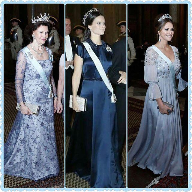 My edit - Swedish Royals today. Who was your favorite?  New blog post (link in bio) . . . #queensilvia #drottningsilvia #princessmadeleine #prinsessanmadeleine #princesssofia #prinsessansofia #sofiahellqvist #swedishroyalfamily #swedishroyals #kungahuset #bernadotte #kungafamiljen #instaroyals #royalfamily #prinsessan #royalfashion