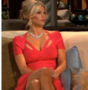 Alexis Bellino's Season 8 Reunion Dress http://www.bigblondehair.com/real-housewives/rhoc/alexis-bellinos-red-season-8-reunion-dress/