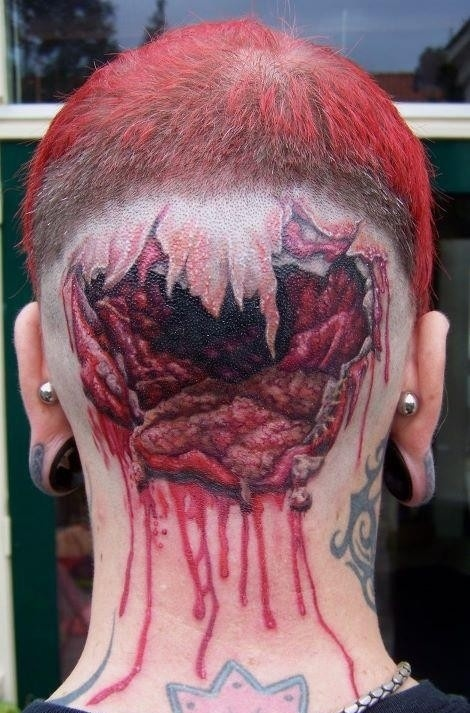 Icky/Creepy/Interesting Tattoo