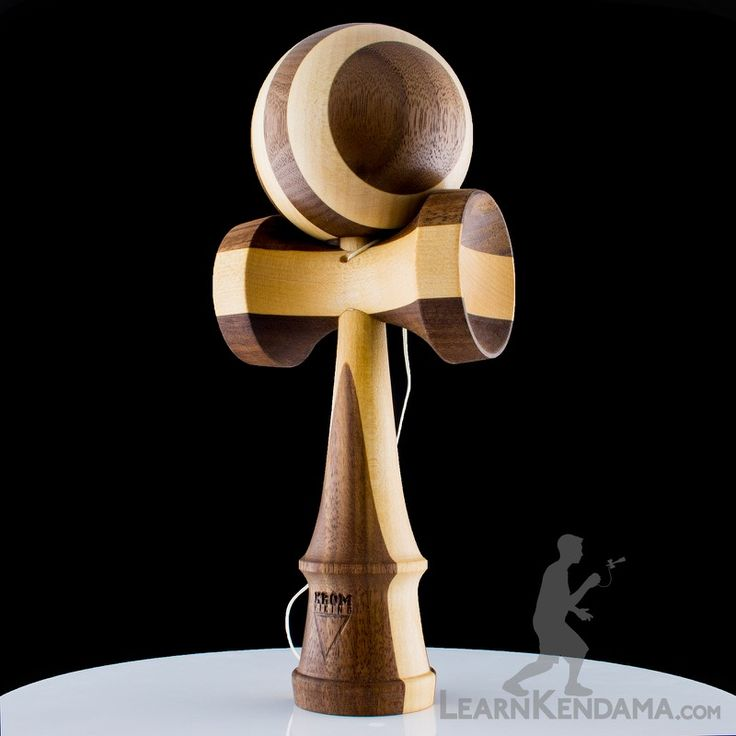 This is the Viking Zebra Kendama.