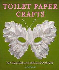 Toilet Paper Crafts for Holidays and Special Occasions: 60 Papercraft, Sewing, Origami and Kanzashi Projects by Linda Wright http://amazon.com/dp/0980092329/
