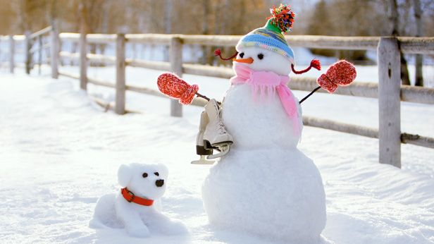 How to build a snowman: Swirling Skater Suzy and Flakey Fido #Hallmark #HallmarkIdeas