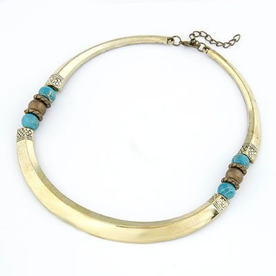 Choker Korean Vintage Fashion Simple Design Necklace Bronze Forever21 | Kalung Korea | kolangkalung.com