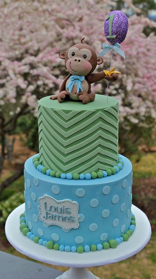 ... george cake designs cake decorating 1st birthday cake monkeys cake