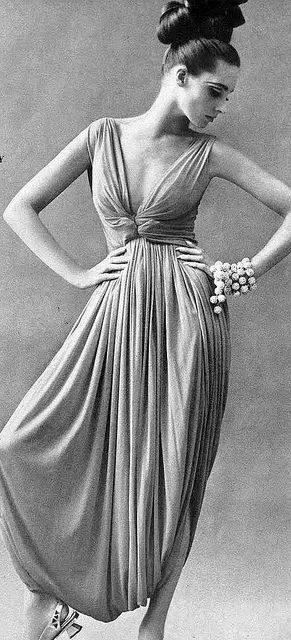 Vogue 1965. I really like this dress and I think the style is definitely back in.