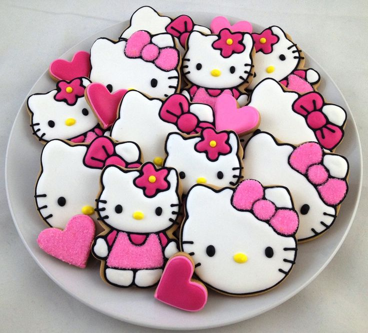 Hello Kitty Cookies - $35.00/dozen