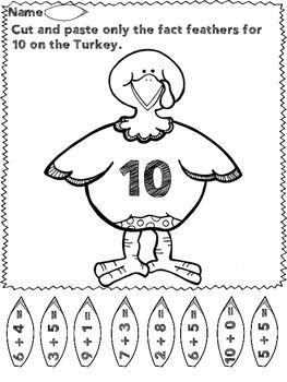 Take It Away Pilgrim - A Math & Literacy Thanksgiving Freebie