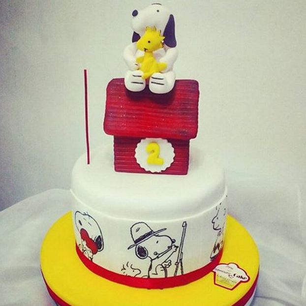 Torta #snoopy