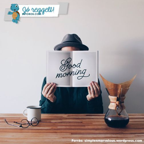 RÖVID VOLT A HÉTVÉGE? Kezdd a reggelt egy jó kávéval és egy jó könyvvel. Így egy rövid hétvége után sem indulhat rosszul a hét! ;) #jóreggelt