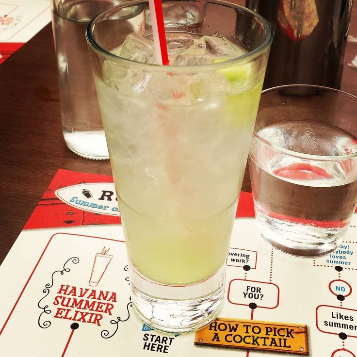 When your drink arrives and then you see the instructions on how to pick a cocktail. You missed that, waiter. #airhead #useless #waiter #drink #drinks #cocktail #cocktails #afternoon #cheers #summer #summermood #summerinthecity #city #citylife #instalike @officialtgifridays @tgifridaysgr