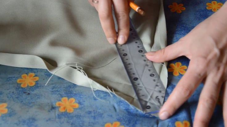 Своими руками #11  Обработка угла при пошиве