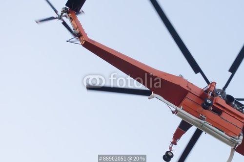 """""""firefighter helicopter Sikorsky erickson si 64f"""" Stock photo and royalty-free images on Fotolia.com - Pic 88902051"""