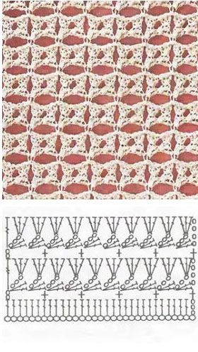 crochet pattern узор крючком