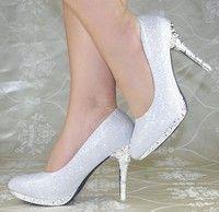 Wish | Fashion Sexy Evening high heels Shoes Silver Colors Party Pumps Ladies Shoes sapatos femininos zapatillas