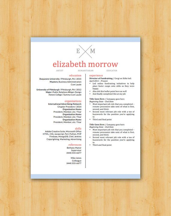 42 best Our Resume Templates images on Pinterest Resume - buzzwords for resumes