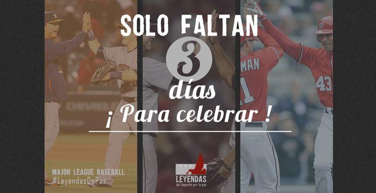 Solo falta 3 días para que comience el #WorldSeries 2015! ¿Eres del equipo #KCRoyals o #Mets? #LeyendasDePaz #OwnOctober