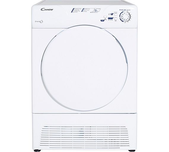 Buy Candy GCC590NB Condenser Tumble Dryer - White/Store Pick Up at Argos.co.uk, visit Argos.co.uk to shop online for Tumble dryers, Large kitchen appliances, Home and garden