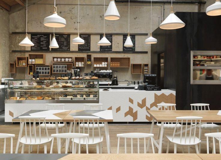 Cornerstone Café / Paul Crofts Studio | Design d'espace