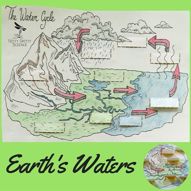 Introducing another chapter in the Earth Science Interactive Notebook Series: Earth's Waters. Each chapter in the series will showcase many activities for the students (both middle and high school) to process the information given by teachers. The engaging activities always vary to enable all students to use and benefit from different learning styles.