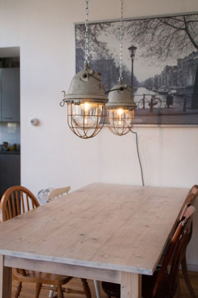 Chuckwalla | Well-glass Pendant Lamp With Round Screw-threaded Casing