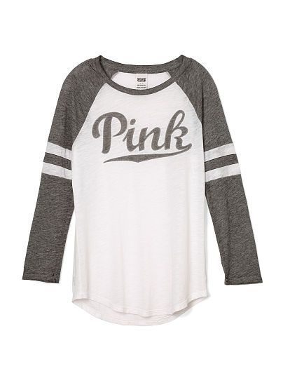 Baseball Tee Pink Victoria 39 S Secret Pink By Victoria