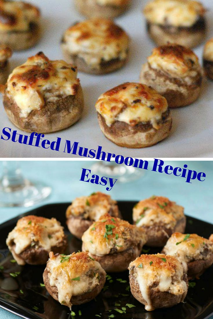 Stuffed mushroom   – FOOD – HEALTH- DRİNK- FASHİON