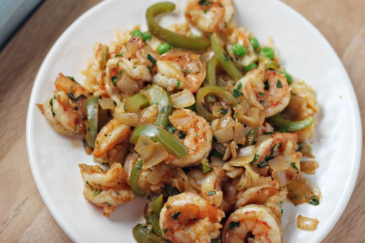 Sauteed Shrimp with Peppers | Recipe | Pinterest