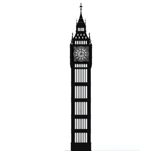 big ben silhouette | Tattoo | Pinterest | Big ben london ... | 530 x 500 jpeg 11kB