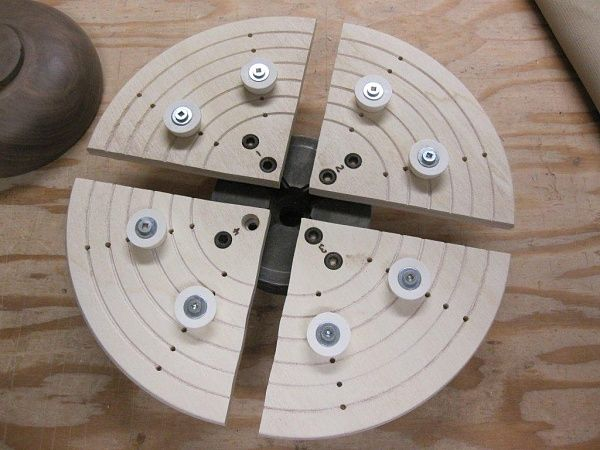 """Building your own Cole Jaws [Good explanation; I'd likely space the rings 1 1/2 to 2"""" apart, though. Much simpler than the Cole type jaws]"""