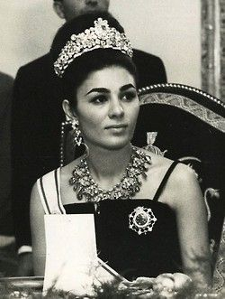 the lovely Empress Farah Diba Pahlavi of Iran