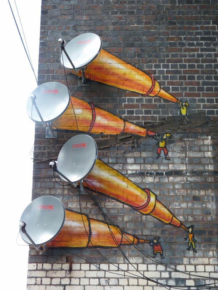 Street Art in Digbeth, Birmingham, UK | boosfe art | Pinterest | Street Art, Art and Street art graffiti