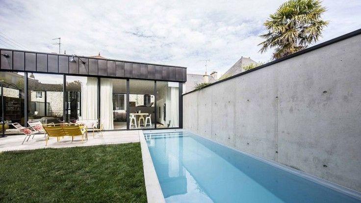 Les 34 meilleures images du tableau piscines miroir sur for Construction piscine 58