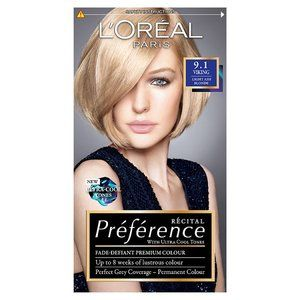 L Or 233 Al Paris Preference Viking 9 1 Light Ash Blonde