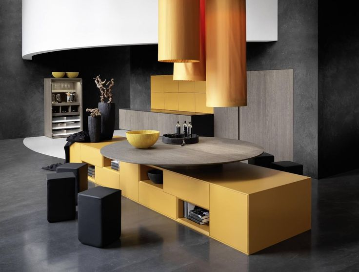 Awesome Kitchen Design. Clou kitchen by Rational.