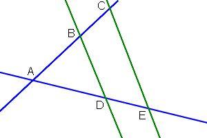 figure théorème de thales