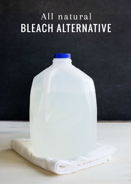 How to Make a 3-Ingredient Natural Bleach
