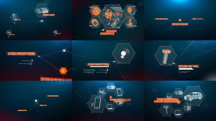whiteCryption : Great UI, infographics and motion graphics