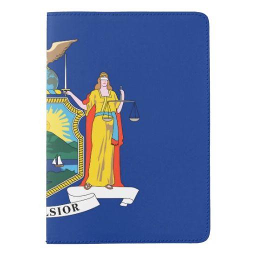 New York flag, American state flag Passport Holder