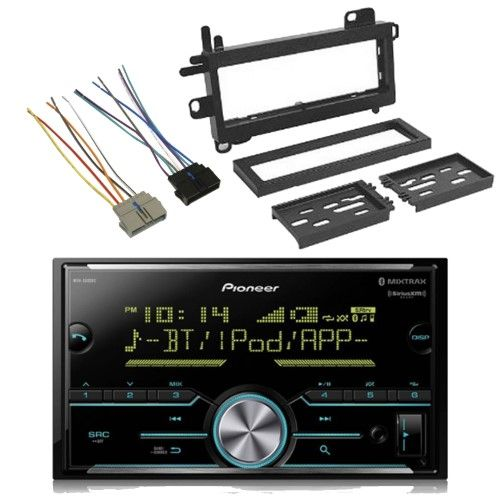 Pioneer Mvh S600bs 2 Din Digital Media Bluetooth Siriusxm Ready
